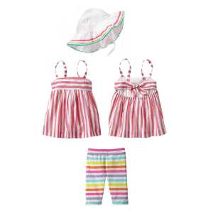 3pcsetrainbow gap.150rb.(18m,2t,3t)